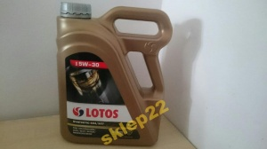 Olej Lotos synthetic 5w30 504/507 4l mamy filtry