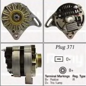 Alternator UNO FIRE 1.0 / 1.1 SEICENTO 1.1 CA350#0608040851#0608040890 (1389131)