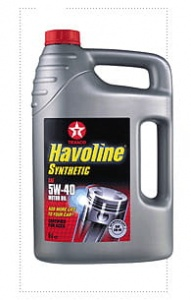 Havoline Synthetic 5W-40 5 L (1389909)