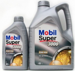 Mobil 3000 ( Synt S) 5W-40 1L (1391493)