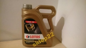 LOTOS Synthetic Plus  5W-40 4L  mamy filtry